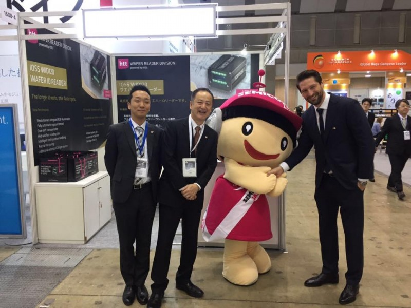 htt Group had a successful show @Semicon Japan