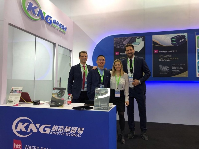 htt Group's Wafer Reader Division had a successful Semicon China